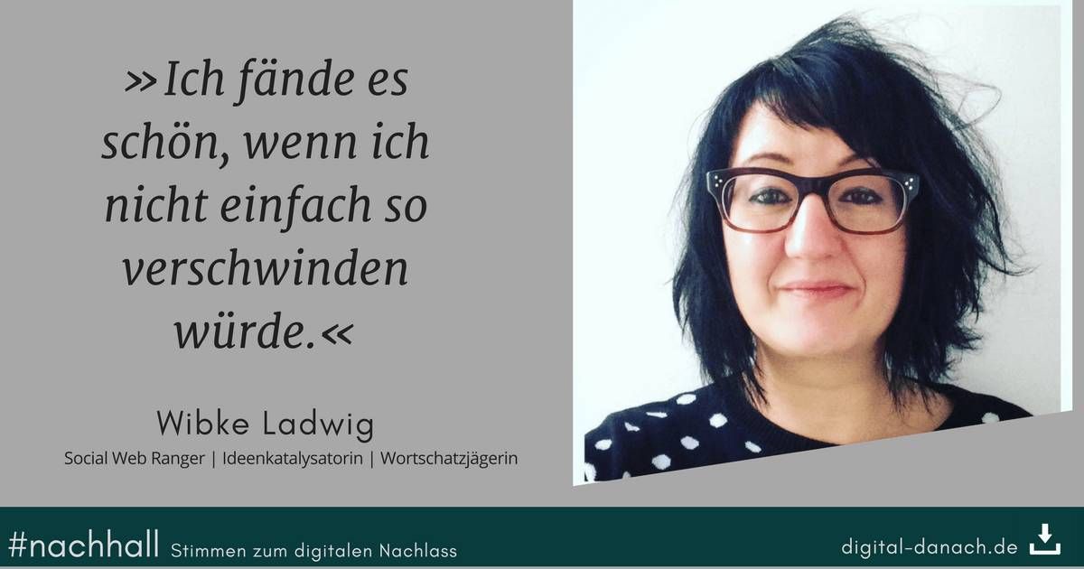 Wibke Ladwig im #nachhall-Interview bei digital.danach