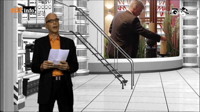 Der elektrische Reporter: Screenshot der Anmoderation
