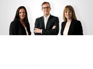 Daniela Friedrich, Christoph Huebner und Irene Hallof von exmedio