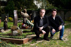 Foto: Die beiden Wissenschaftler Thorsten Benkel und Matthias Meitzler