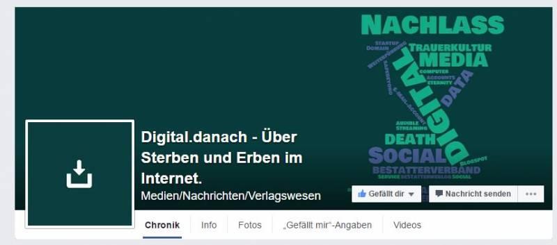 Social-Media-Kanäle: Facebook-Page-Header