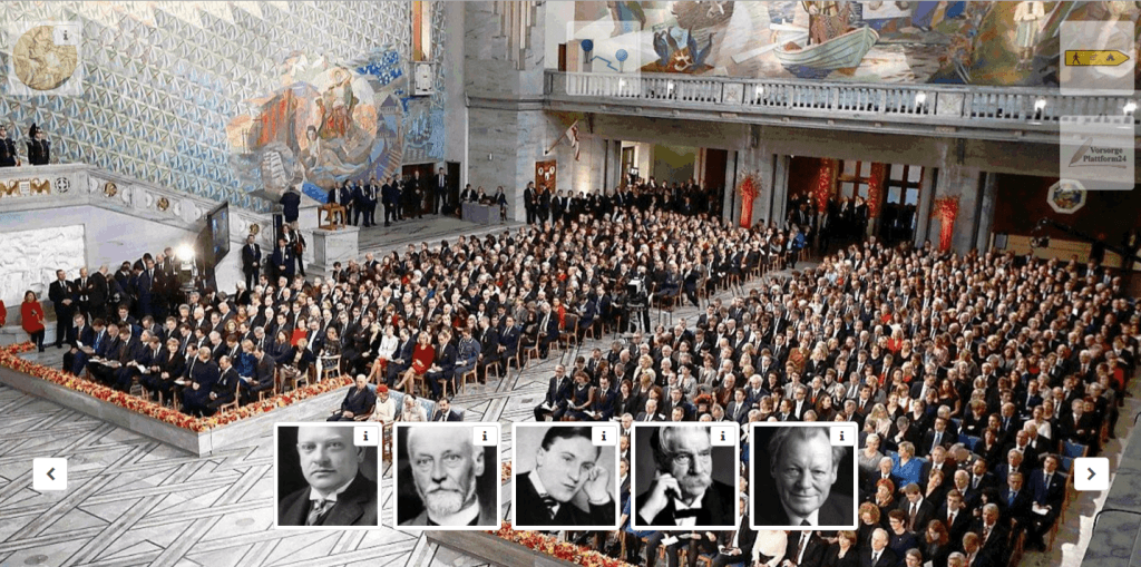 Nobelpreisträger im Friedhofguide