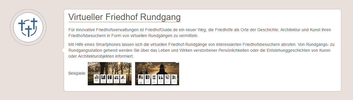 Friedhofguide.de: Headergrafik