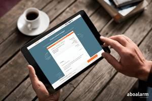 Aboalarm-Pressebild: Auch Online-Verträge wollen im Blick behalten werden!
