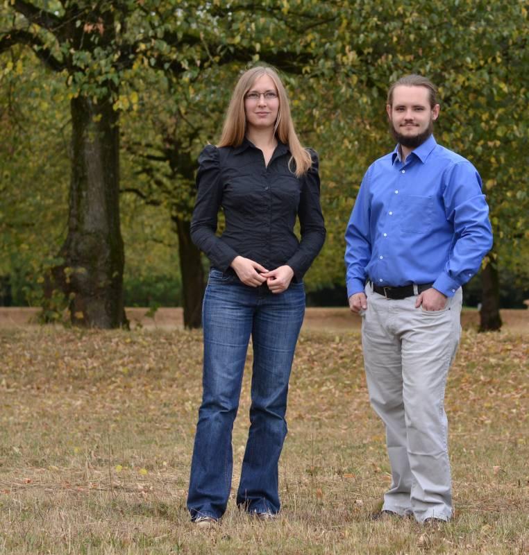 Sabine Landes und Dennis Schmolk / digital-danach.de / Foto: Sabrina Kurtz