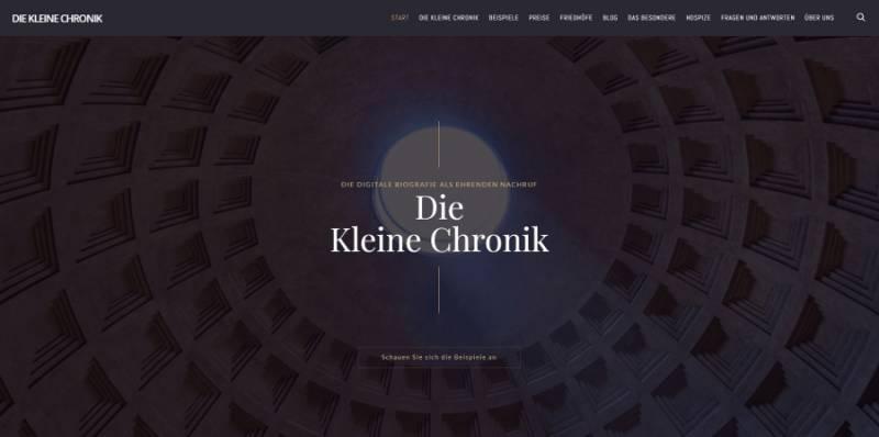 Die kleine Chronik / Petra Schaberger