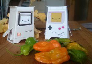 Chatbots in the Garden 1 by Dennis Schmolk