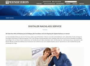 Wiener digitaler Nachlassservice - Launch im Oktober 2016