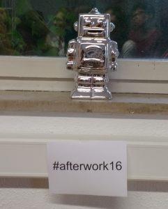 #afterwork16 Robot by Sabine Landes