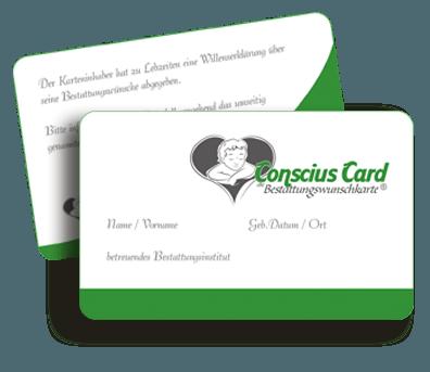 Abbildung: Conscius Card