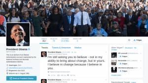 Mit dem Jahr 2016 geht auch der @POTUS44 Obama