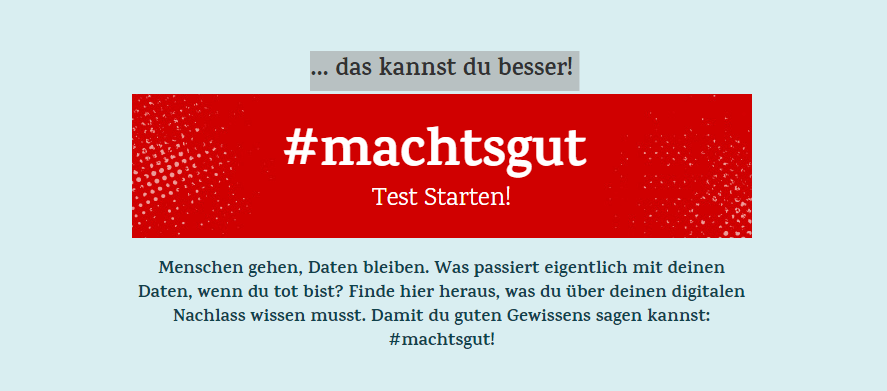 Homepage: machts-gut.de